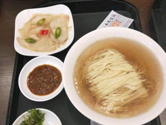 Lingyan mountain plain noodles